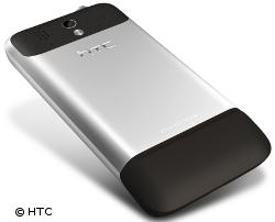 Edles Design: Beim Legend setzt HTC ganz auf Aluminium
