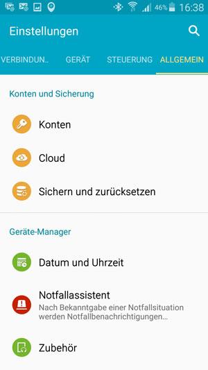 Android-Handys orten