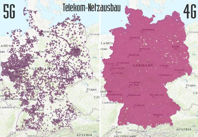 Telekom Netzausbau 2021 Karte